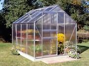 5 m² Halls Popular Poly greenhouse