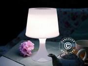Table lamp solar power,  white LED