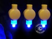 LED Partylight,  20 pieces,  blue