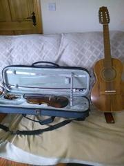 Brazilian guitaro Chinese fiddle Chieftain whistle