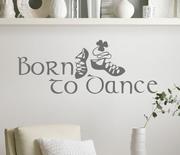Irish Dance Born to Dance Wall Decal