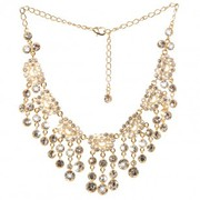 Have a look at our Splendid Yellow gold plated necklace set collection