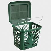 Ventilated Kitchen Food Waste Caddy Bin – BioBag