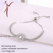 925 silver jewelry necklaces earring bracelet custom wholesale