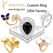 custom OEM 925 sterling silver bracelet bangles supplier