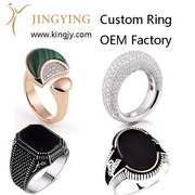 custom bracelet bangles gold plated silver jewelry supplier and wholes