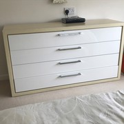 Large 4 drawer chest unit in excellent conditon