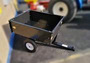 Trailer/Dump Cart for Ride-On Mower