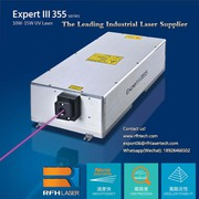 15W UV laser is used in PCB QR code laser drilling,  cutting neatly wit